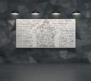 Het concept van de huisverkoop Stock Foto's
