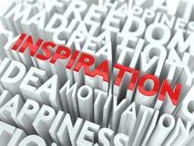 Het Concept van de inspiratie. Stock Foto