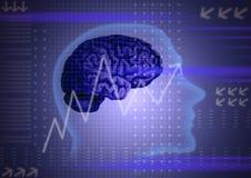 Het concept van de intelligentie Stock Afbeelding