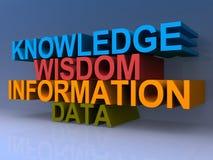 Het concept van de kennis stock illustratie