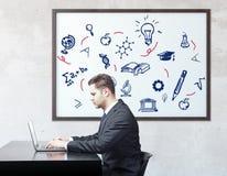 Het concept van de kennis Royalty-vrije Stock Afbeeldingen