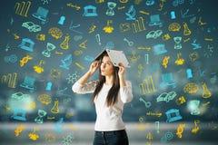 Het concept van de kennis Royalty-vrije Stock Foto's