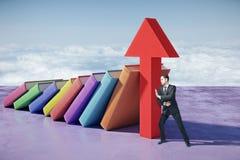 Het concept van de kennis Stock Foto's