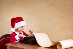 Het concept van de Kerstmisvakantie Stock Afbeelding