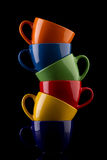 Het concept van de koffie Royalty-vrije Stock Afbeeldingen