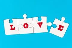 Het concept van de liefde Royalty-vrije Stock Foto's
