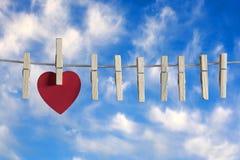 Het concept van de liefde Stock Fotografie