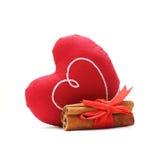 Het concept van de liefde met hart Stock Fotografie