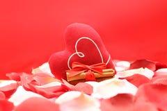 Het concept van de liefde met hart Royalty-vrije Stock Foto