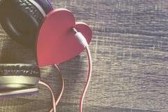 Het concept van de liefdemuziek Royalty-vrije Stock Foto