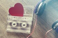 Het concept van de liefdemuziek stock fotografie