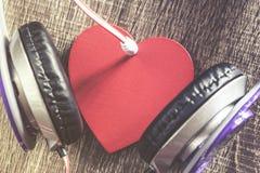 Het concept van de liefdemuziek royalty-vrije stock afbeelding