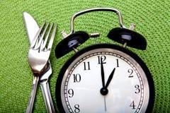 Het concept van de maaltijdtijd Stock Afbeeldingen