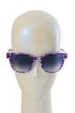 Het concept van de manier met zonnebril Stock Afbeeldingen