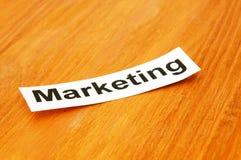 Het concept van de marketing royalty-vrije stock foto