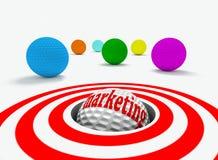 Het concept van de marketing royalty-vrije illustratie