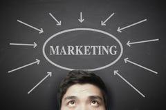 Het concept van de marketing Stock Foto's
