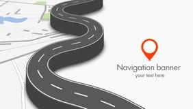 Het concept van de navigatie Royalty-vrije Stock Foto's