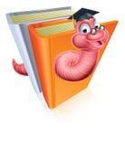 Het concept van de onderwijsboekenwurm Royalty-vrije Stock Foto's