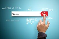Het concept van de onderzoeksbar Royalty-vrije Stock Afbeeldingen