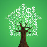 Het concept van de onroerende goederenboom Royalty-vrije Stock Fotografie