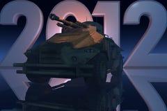 Het Concept van de oorlog 2012 Royalty-vrije Stock Foto's