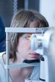 Het concept van de optometrie royalty-vrije stock foto