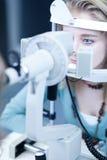 Het concept van de optometrie stock afbeelding