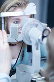 Het concept van de optometrie royalty-vrije stock fotografie