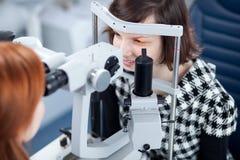 Het concept van de optometrie stock foto's