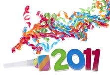 Het Concept van de Partij van het nieuwjaar Royalty-vrije Stock Foto's
