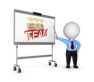Het concept van de presentatie. Stock Afbeeldingen