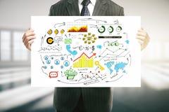 Het concept van de presentatie Royalty-vrije Stock Afbeeldingen