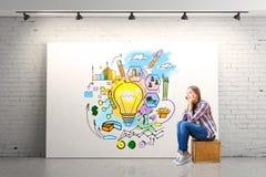 Het concept van de presentatie Royalty-vrije Stock Afbeelding