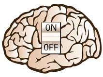 Het concept van de psychologie Stock Fotografie