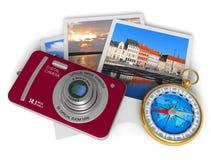 Het concept van de reis en van het toerisme stock illustratie