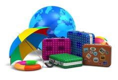 Het concept van de reis, van het toerisme en van vcation Royalty-vrije Stock Foto