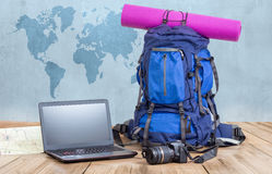 Het concept van de reisblog Royalty-vrije Stock Foto's