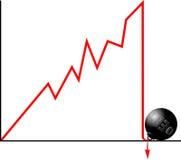 Het concept van de schuld Royalty-vrije Stock Fotografie
