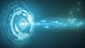 Het concept van de snelheidstechnologie Stock Afbeeldingen