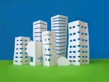 Het concept van de stad Stock Fotografie