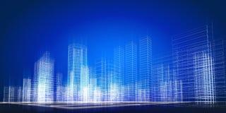 Het concept van de stad Royalty-vrije Stock Foto's