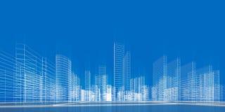 Het concept van de stad Royalty-vrije Stock Fotografie