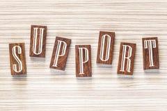 Het concept van de steun stock foto's