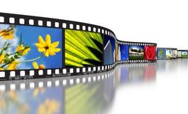 Het Concept van de Strook van de film Royalty-vrije Stock Foto