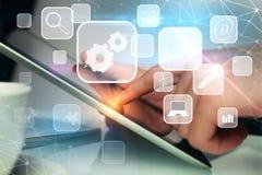 Het concept van de technologie Royalty-vrije Stock Afbeelding