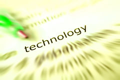 Het concept van de technologie Royalty-vrije Stock Fotografie