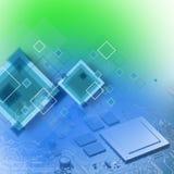 Het concept van de technologie Royalty-vrije Stock Afbeeldingen