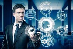 Het concept van de technologie Royalty-vrije Stock Foto