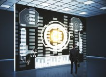 Het concept van de technologie Stock Foto